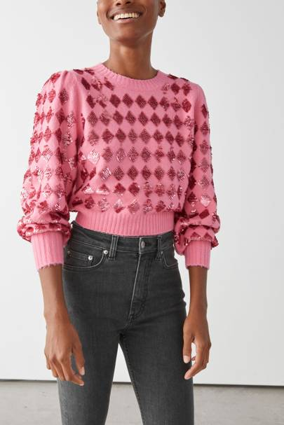 Sequinned Valentine's outfit ideas