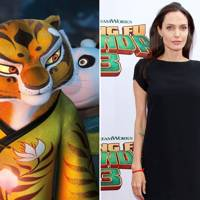 Angelina Jolie as Tigress in Kung Fu Panda