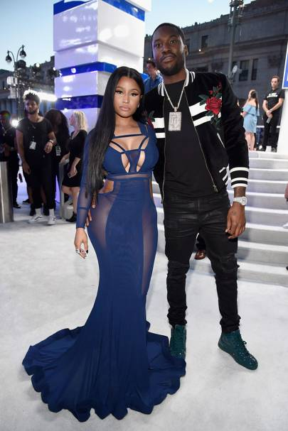 January: Nicki Minaj and Meek Mill
