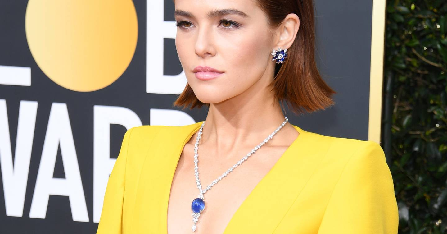 Big Titanic jewels shined at the Golden Globes so maybe the old lady didn't drop it in the ocean at the end?