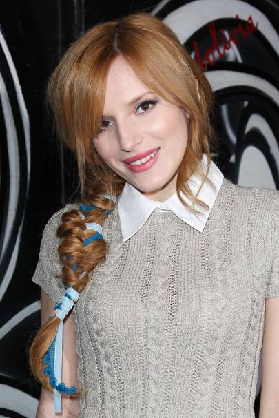 Bella Thorne Amp Fishtail Braid Amp Plait Aw14 Hair Trend