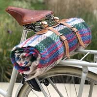 Wool picnic blanket