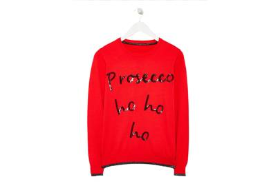 The drink of the year immortalised on your Christmas jumper.