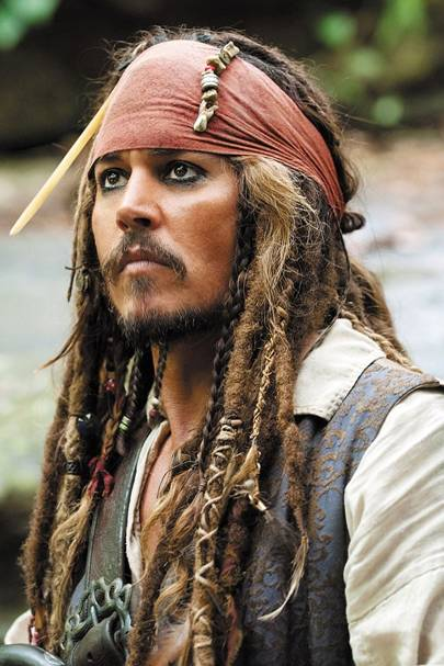 Johnny Depp's Captain Jack - Pirates of the Caribbean, 2003