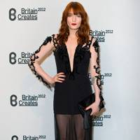 DO #1: Florence Welch at the Britain Creates party, June