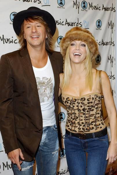 Heather Locklear & Richie Sambora