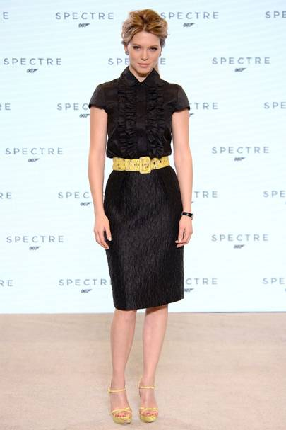 L A Seydoux New Bond Girl Fashion Style Glamour Uk