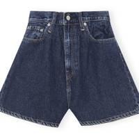 Ganni X Levi's Denim Collaboration: the denim shorts