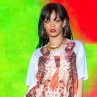 Rihanna performs at Radio 1's Hackney Weekend