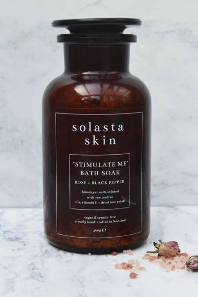 """Stimulate Me"" Bath Soak by Solasta Skin"