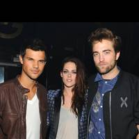 Taylor Lautner, Kristen Stewart, Robert Pattinson at the Teen Choice Awards 2012