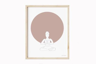 Best Yoga Gifts: The print
