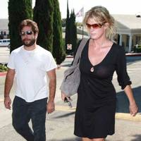 Rachel Hunter and Jarret Stoll