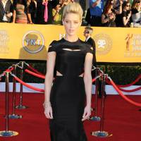 Amber Heard at the SAGs 2012