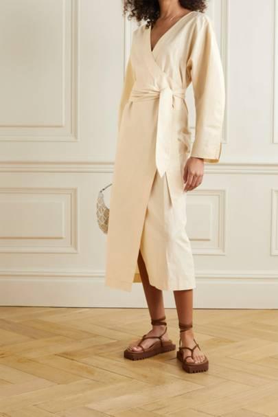 POST-LOCKDOWN SUMMER DRESSES: WRAP DRESS