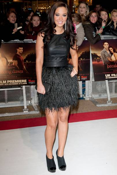 Tulisa Contostavlos at the UK premiere of Breaking Dawn