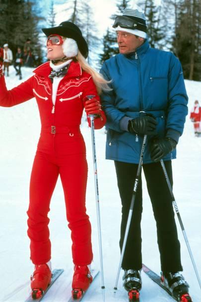 Roger Moore & Lyn-Holly Johnson
