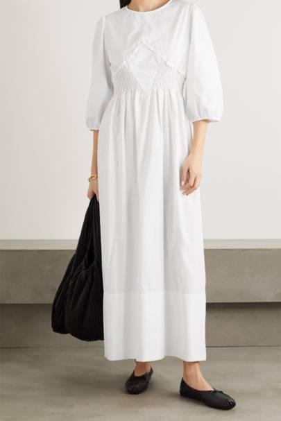 POST-LOCKDOWN SUMMER DRESSES: WHITE MAXI