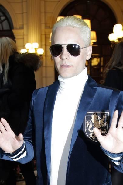Did Jared Leto's new blonde hair just upstage Kim K?