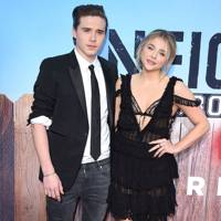 September: Brooklyn Beckham and Chloë Moretz
