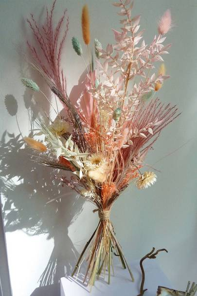 Dried flowers: large dried flower bouquet UK