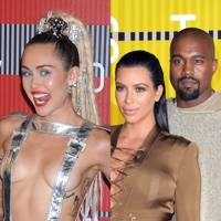 Miley Cyrus & the Kardashian-Wests