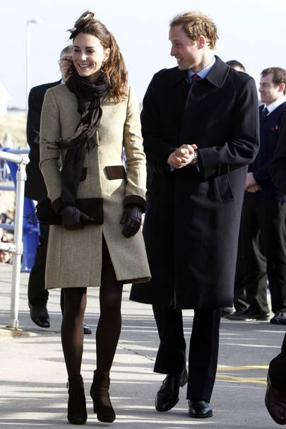 Kate Middleton – Winter Warmer
