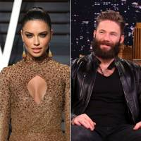 March: Adriana Lima and Julian Edelman