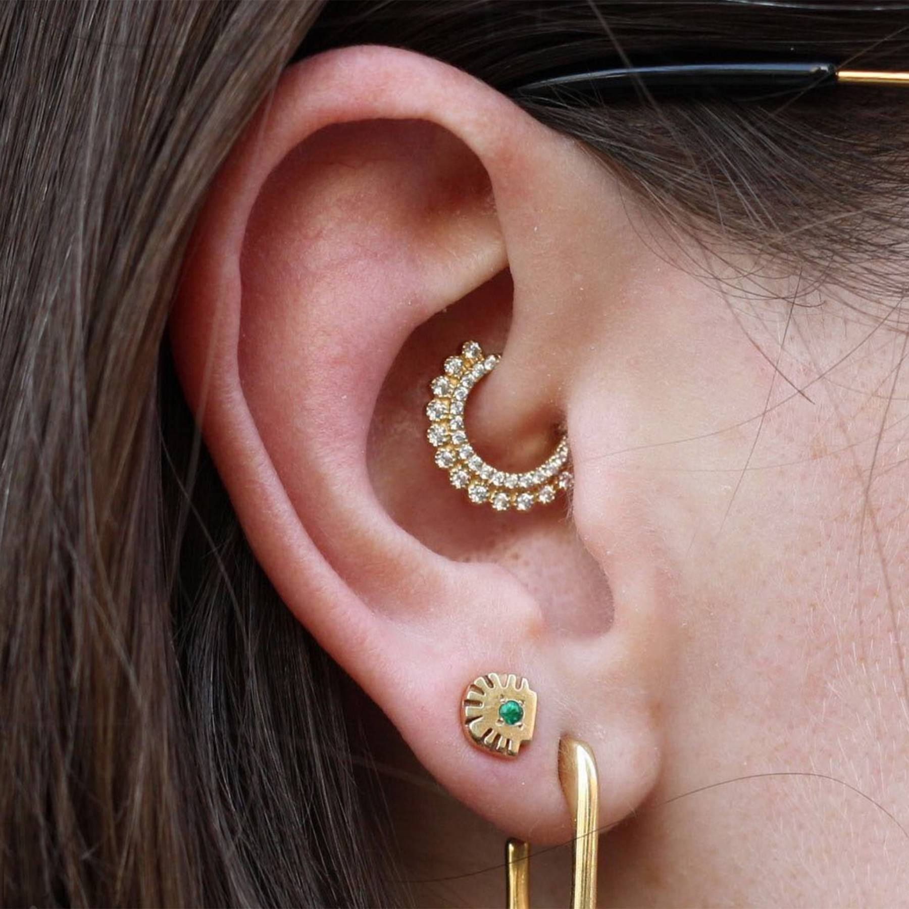 Different Types Of Ear Piercings And What They Re Called Glamour Uk