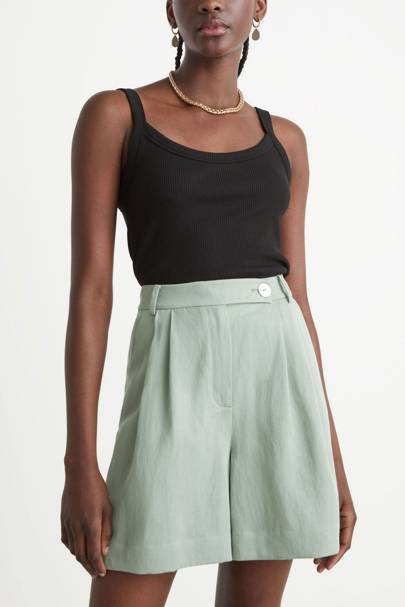 & Other Stories Sale Linen Shorts