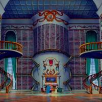 Belle's library - Beauty and the Beast