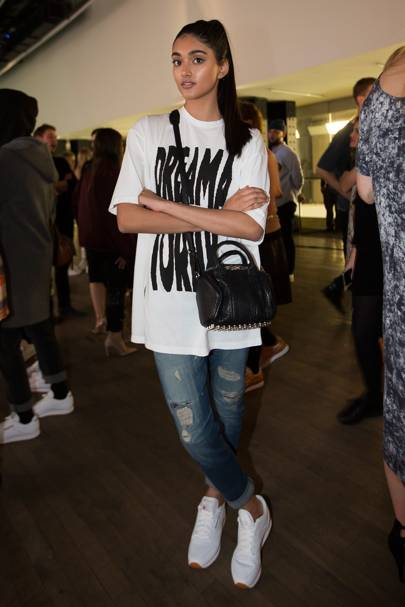 c530b0635e Celebrities Ripped Jeans Fashion 2017 (Glamour.com UK) | Glamour UK