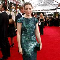 Kelly McDonald at the Golden Globes 2012