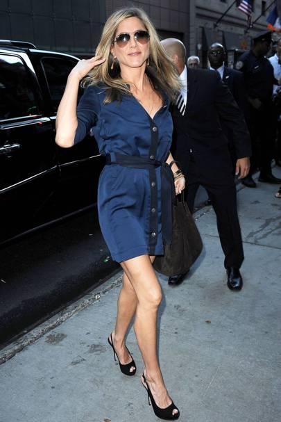 Jennifer Aniston & Paul Sculfor