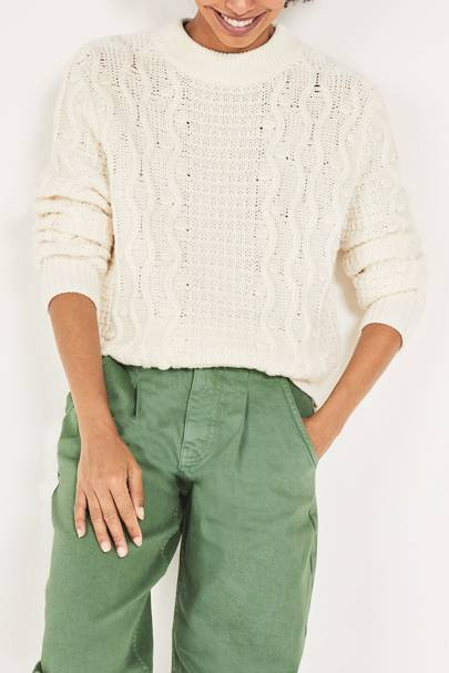 Best cable knit sweater on sale