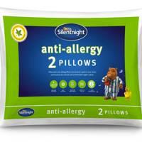 Silent night anti allergy pillows