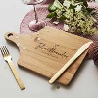 Best 4th wedding anniversary gift idea: wooden anniversary gift idea
