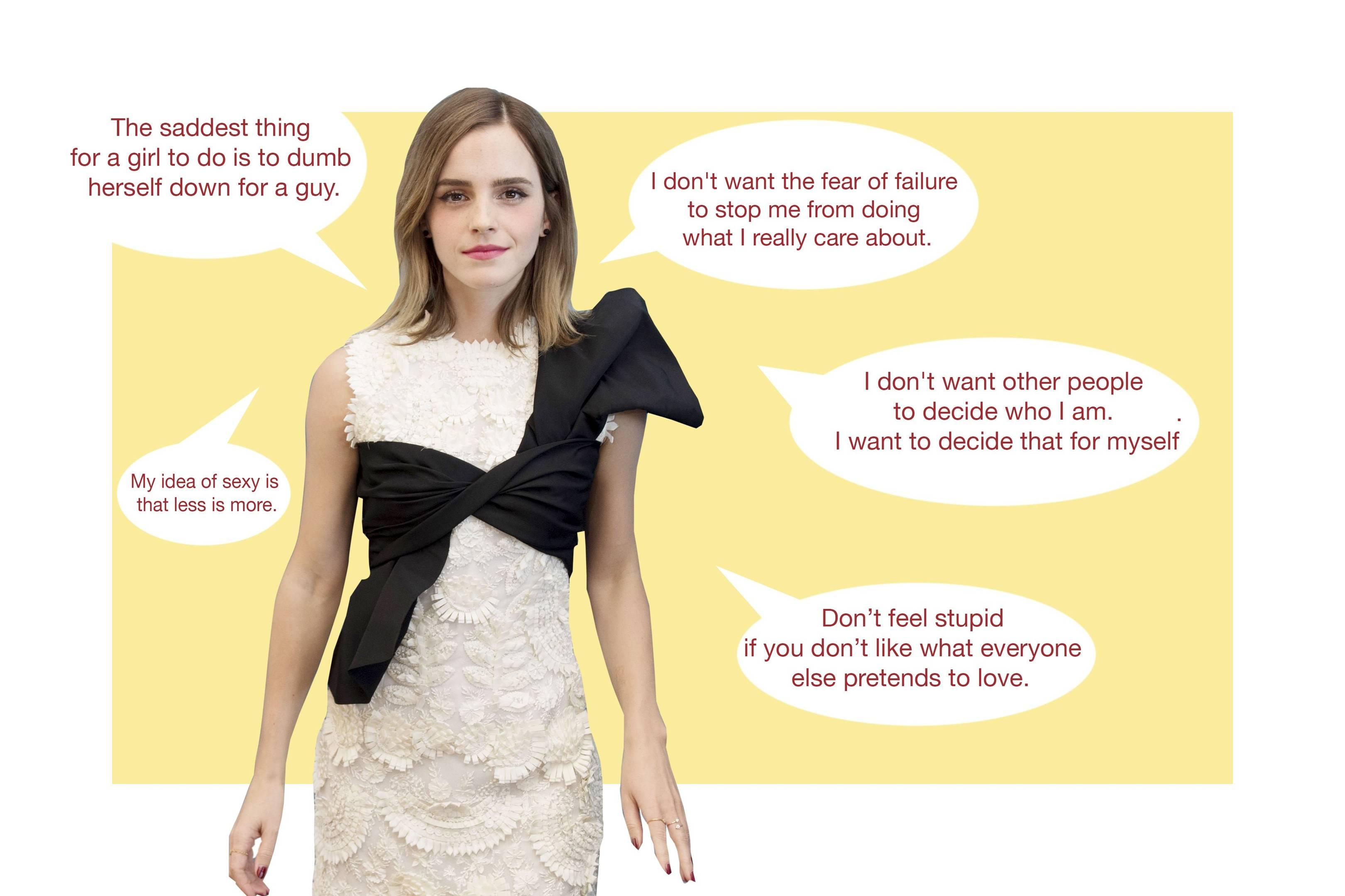 Emma Watson Quotes Actress Un Ambassador Feminist