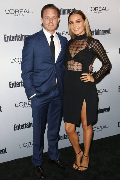 Camilla Luddington with boyfriend Matthew Alan