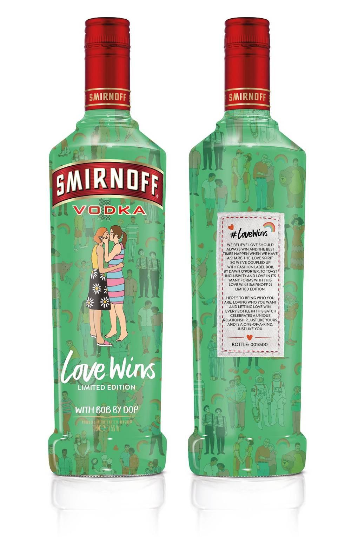 smirnoff love wins bottles