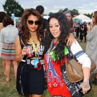 Mutya & Vanessa at V Festival