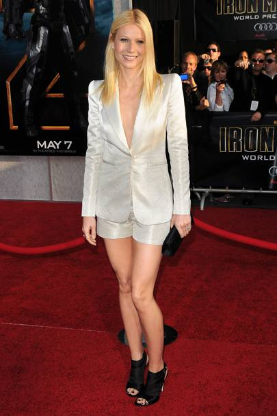 DO #20: Gwyneth Paltrow in Armani at the Iron Man 2 premiere, April