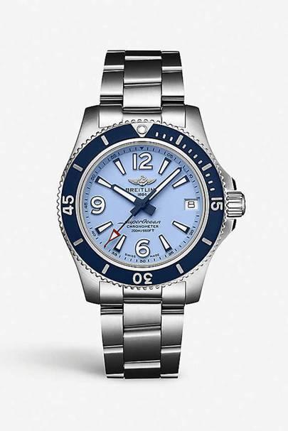 Best designer watches - baby blue face