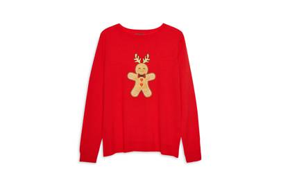 Nothing says Christmas like a jolly gingerbread man.