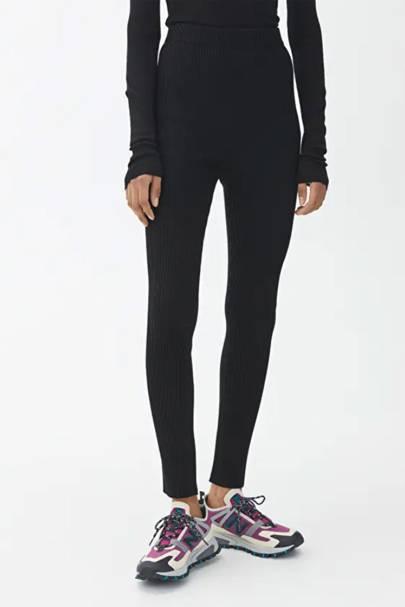 Best wool black leggings