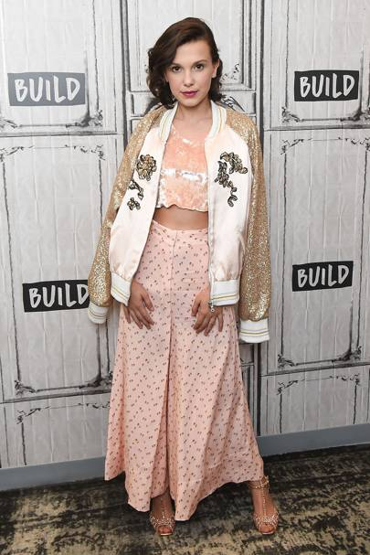 Millie Bobby Brown Style Amp Fashion Pictures Glamour Uk