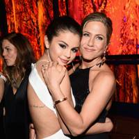 Selena Gomez and actress Jennifer Aniston