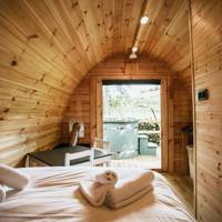 Best glamping with hot tub in Wales