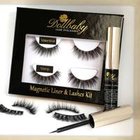 Celebrity Eyelashes - No-Glue-Fast and Fabulous by Dollbaby