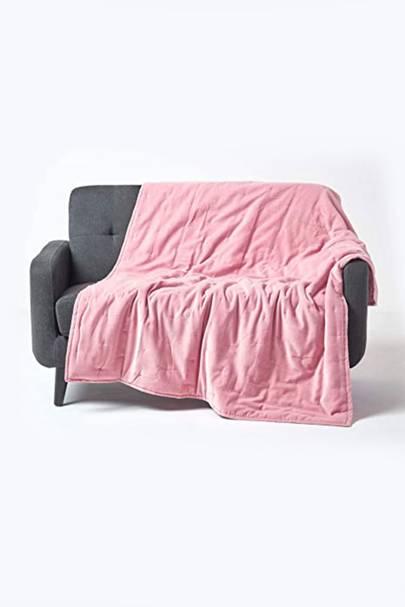 Bedroom Velvet Throw Blanket: